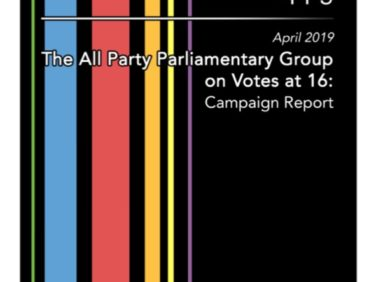 APPG on Votes at 16: Campaign Report