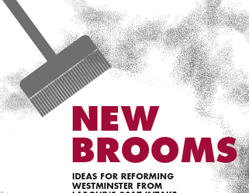 New Brooms: ideas for reforming Westminster from Labour's 2017 intake