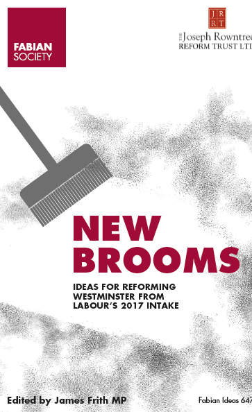 The front cover of a publication called New Brooms ideas for reforming Westminster from Labour's 2017 intake